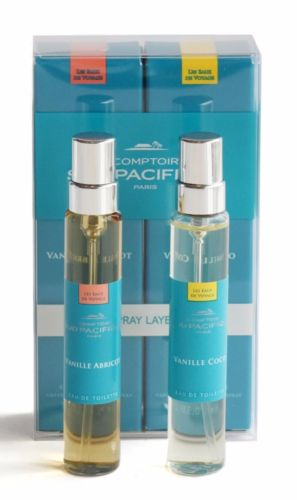 Comptoir Sud Pacifique Vanille Abricot & Vanille Coco Layering Duo Travel Spray