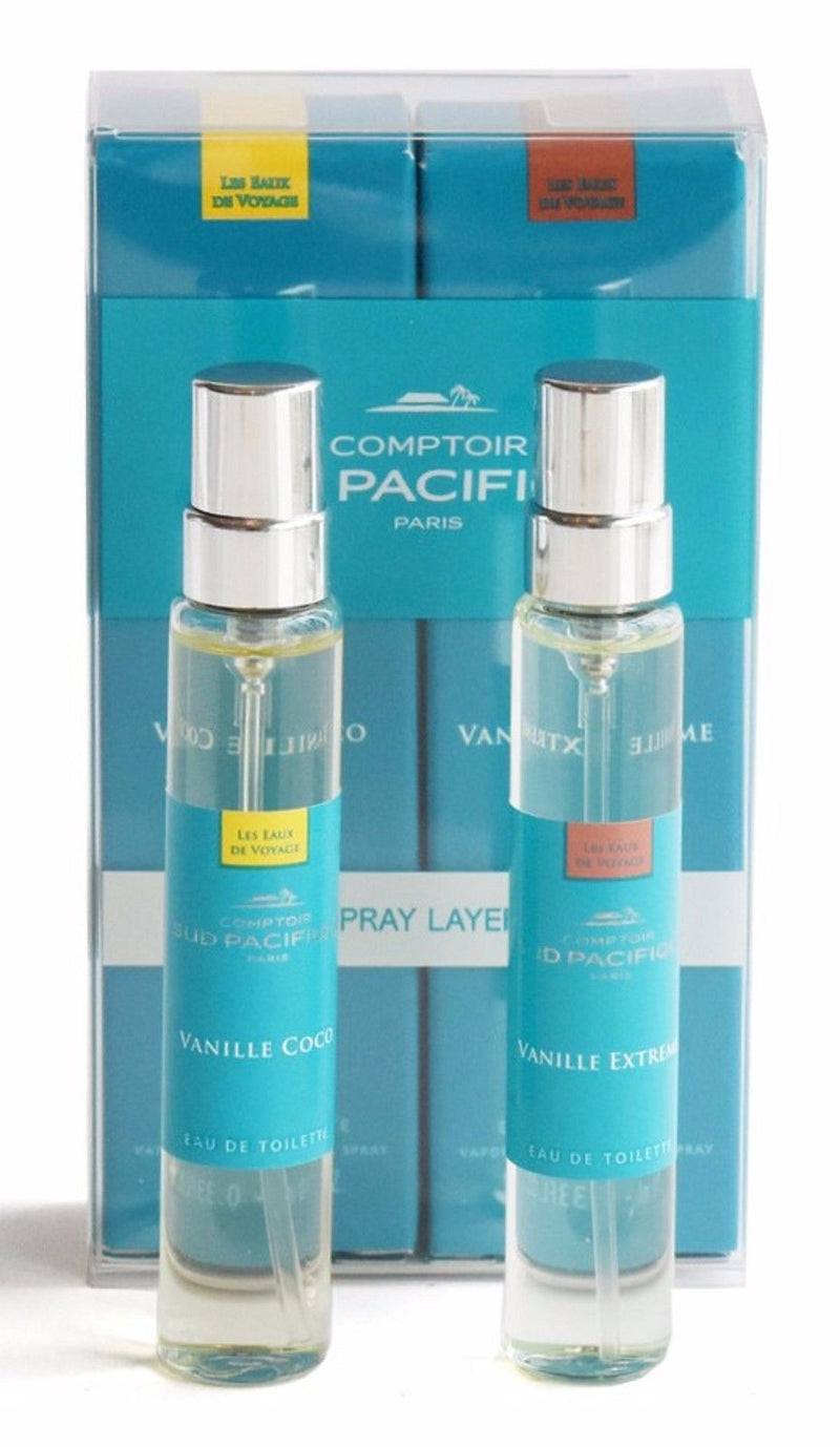 Comptoir Sud Pacifique Vanille Coco & Vanille Extreme Layering Duo Travel Spray