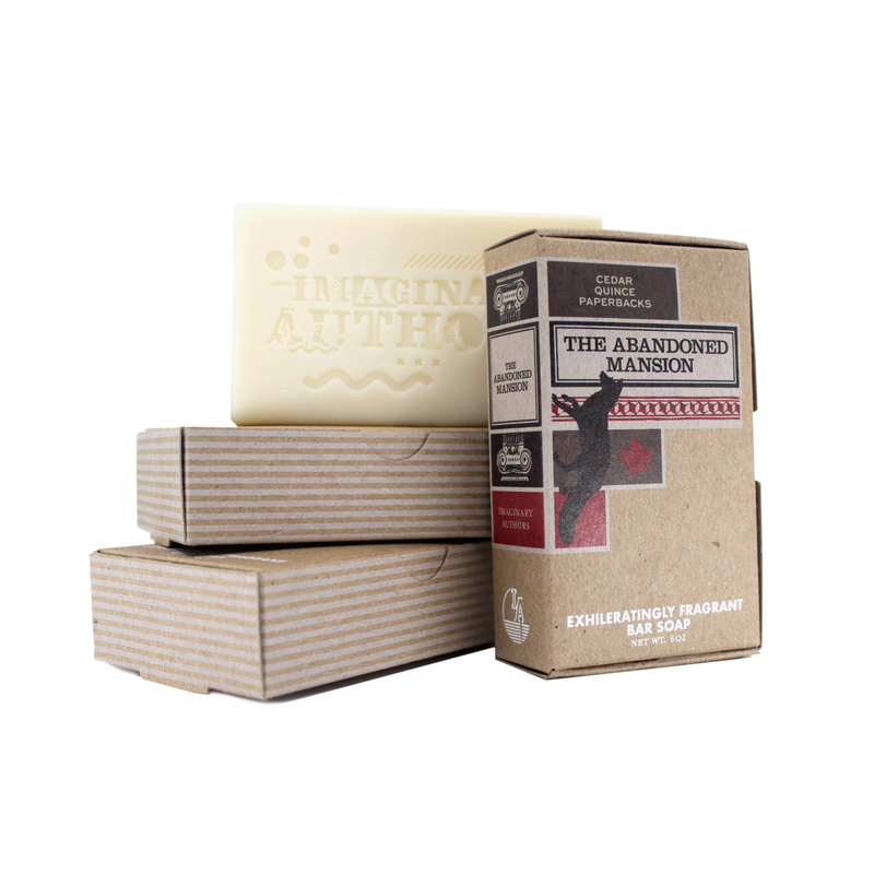The Abandoned Mansion by Imaginary Authors ~ Single Bar Soap