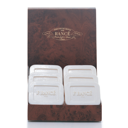 Rance 1795 F. Rance Classic Soap Box for Men (6 x 125 g) ~ 6 Soaps in Box