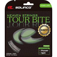 Solinco Heaven String -Tour-Bite -soft Tennis Stringing Service