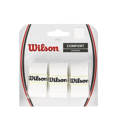Wilson PRO Overgrip white (3 Packs)