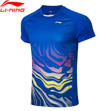LiNing 2019 Men's Badminton shirt AAYP073-1