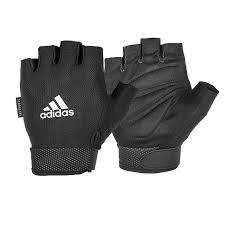 ADIDAS ESSENTIAL ADJUSTIBLE GLOVES - WHITE - Pro Racquet