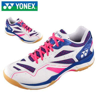 --Yonex SHBCFLEX Ladies Badminton Shoes Pink/Blue