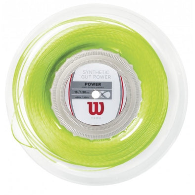 Willion Synthetic gut REEL (LIME GEEN )Tennis Stringing Service - Pro Racquet