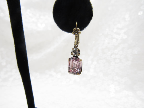 Vintage Swarovski Crystal Earrings