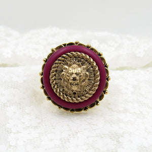 Chanel Button Ring
