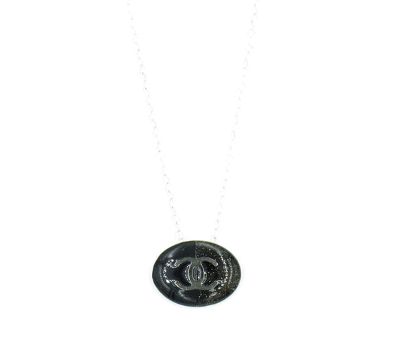 Chanel Tag Emblem Necklace