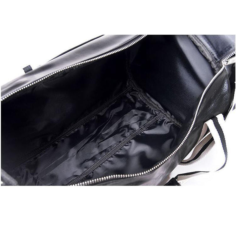 ... Hot Top PU Outdoor Sports Gym Bag Multifunction Training Fitness With  Shoes Pocket ... cb74c3f7d8