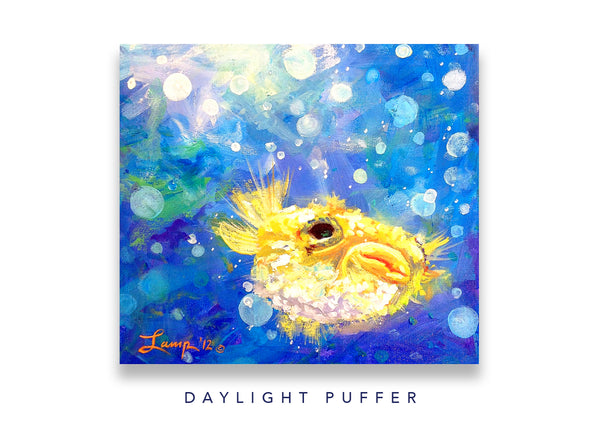 Daylight Puffer Notecard