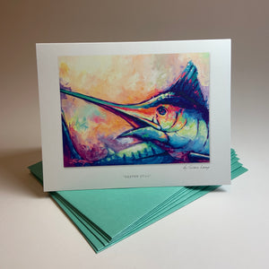 "Notecard/Greeting Card ""Deeper Still"""