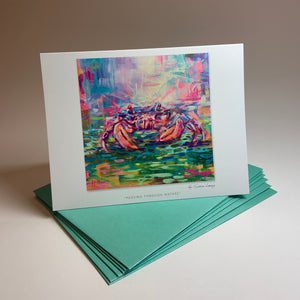 "Notecard/Greeting Card ""Passing Through Waters"""