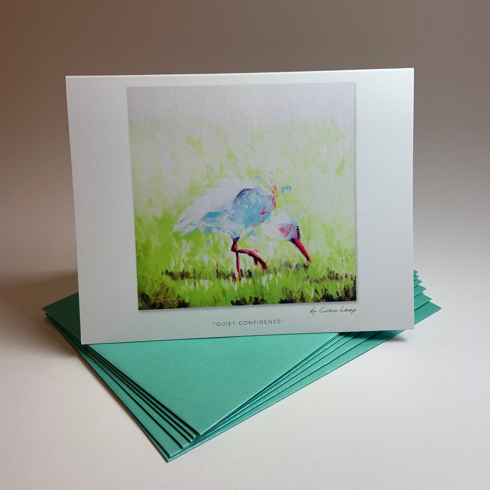 "Notecard/Greeting Card ""Quiet Confidence"""
