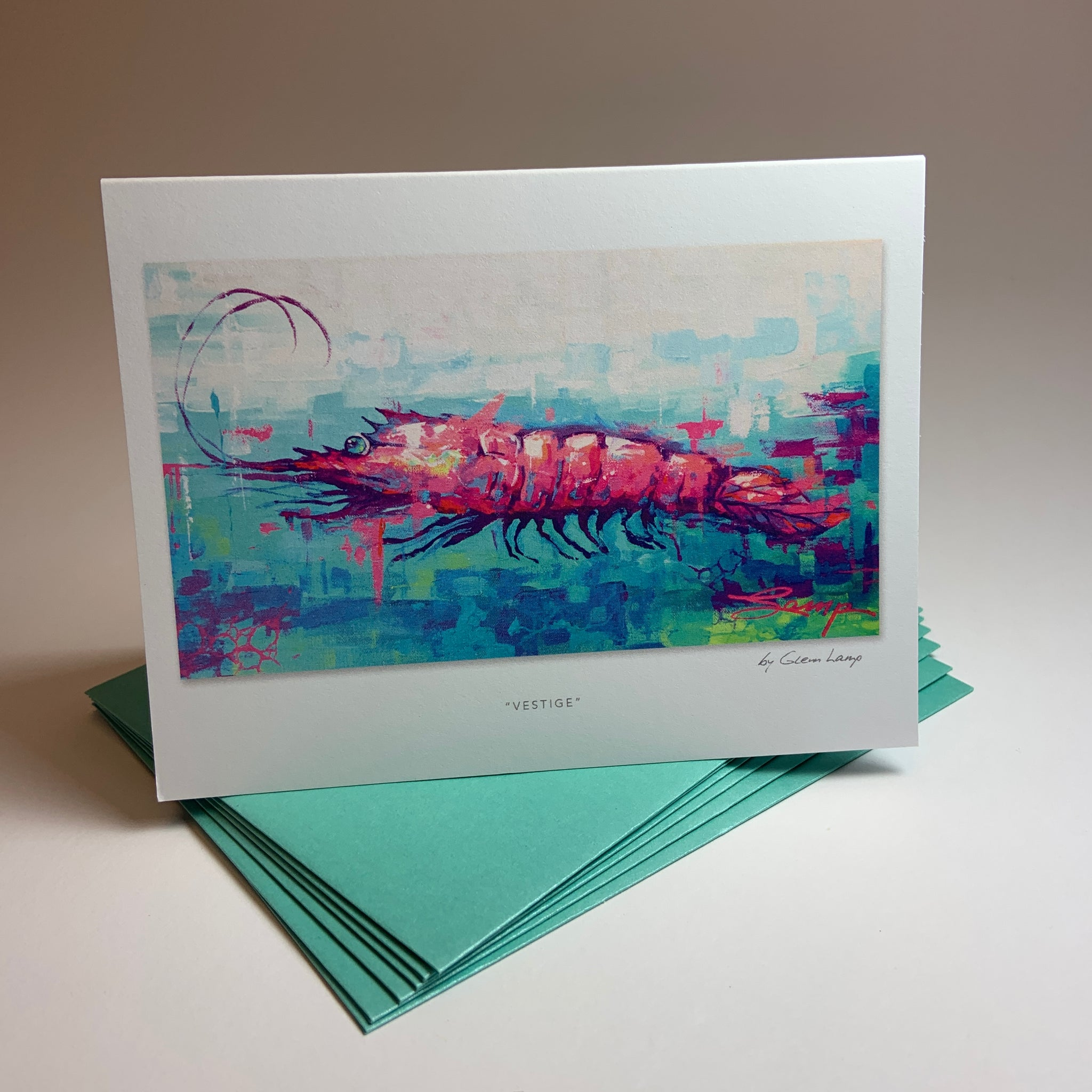 "Notecard/Greeting Card ""Vestige"""