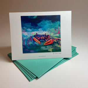 "Notecard/Greeting Card ""Bluewater"""