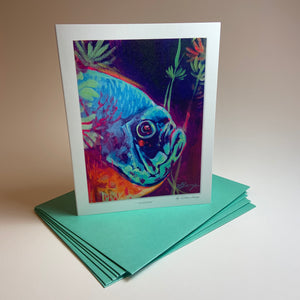 "Notecard/Greeting Card ""Hidden"""