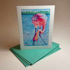 "Notecard/Greeting Card ""Living Water"""