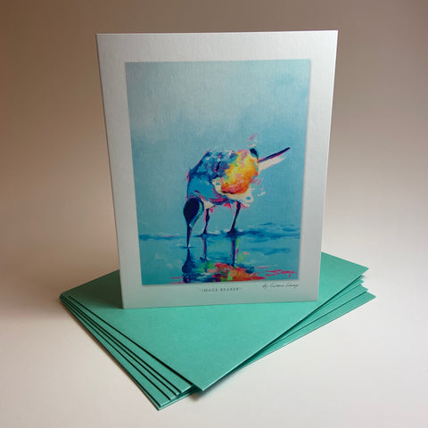 "Notecard/Greeting Card ""Image Bearer"""