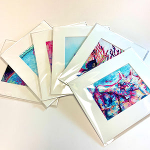 "Set of 12 8""x10"" Vertical Prints"