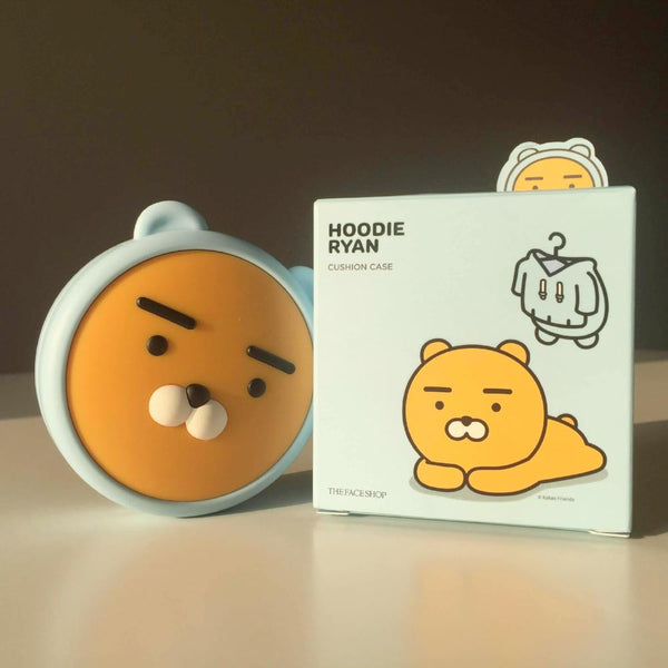 THE FACE SHOP X KAKAO FRIENDS HOODIE RYAN CUSHION CASE