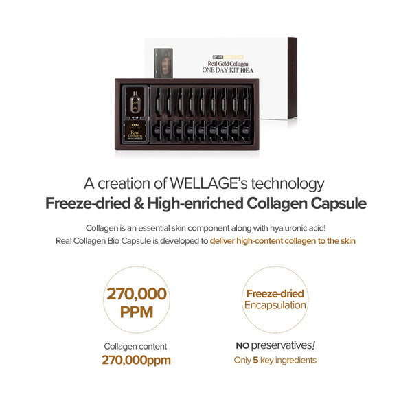 WELLAGE GOLD COLLAGEN CAPSULE ONE DAY KIT (10 DAYS)