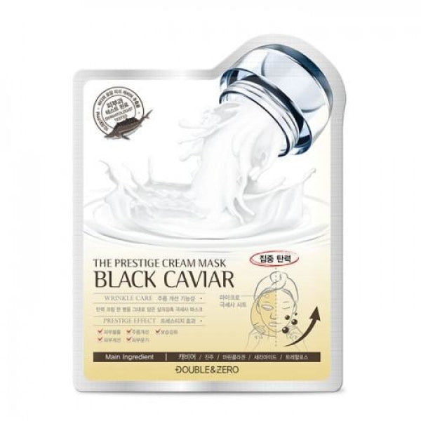 Double&zero Black Caviar The Prestige Cream Mask Mask Sheet