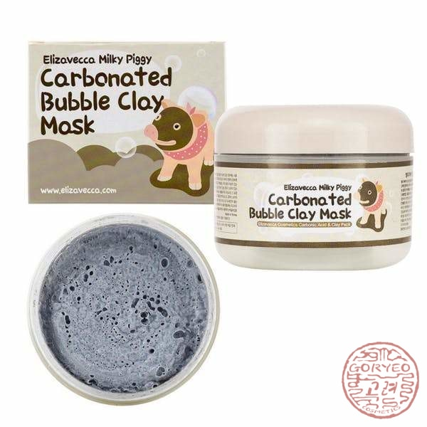 Elizavecca Carbonated Bubble Clay Mask 100Gr Mask