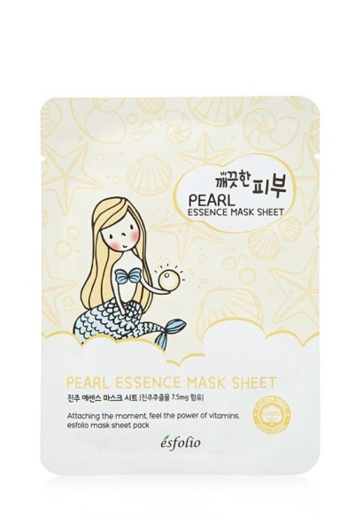 Esfolio Pearl Essence Mask Sheet Mask Sheet