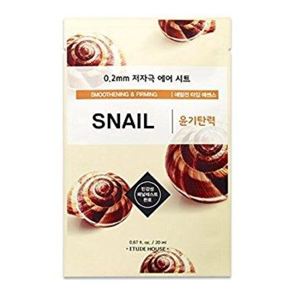 Etude House Snail Mask Sheet Mask Sheet