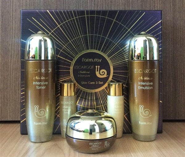 Farm Stay Escargot Noblesse Intensive Skin Care Set Set