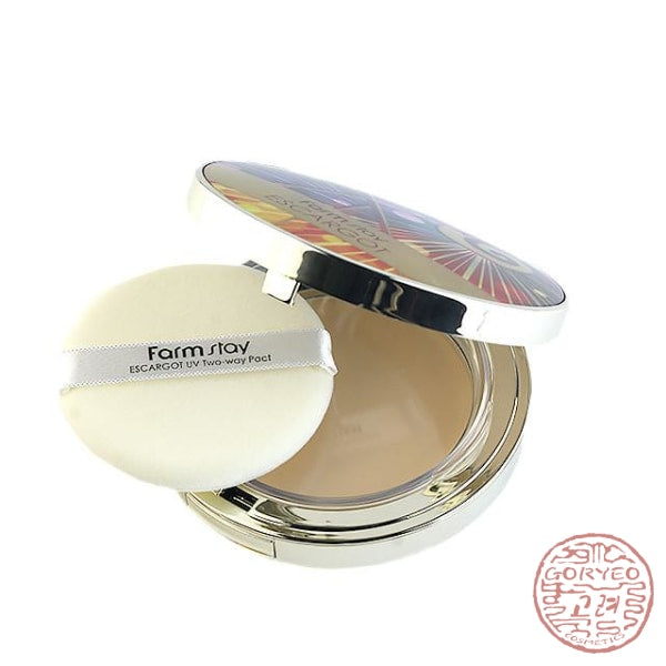 Farm Stay Escargot Uv Two-Way Pact Powder