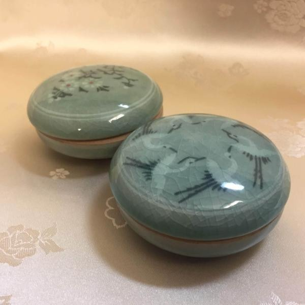 Goryeo Celadon Cosmetic Box 1 Unit