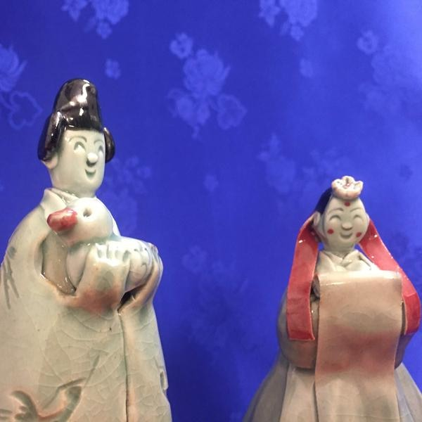 Goryeo Celadon Couple Set-Wedding Souvenirs