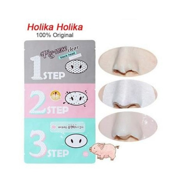 Holika Pig-Nose Clear 3-Step Kit Mask Sheet