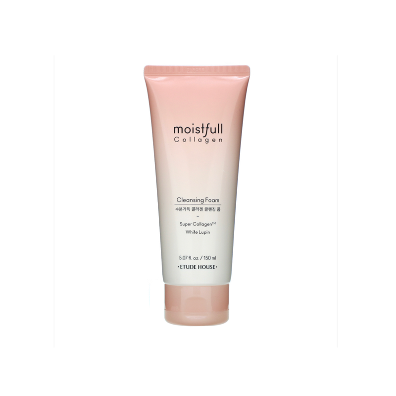 Moistfull Collagen Cleansing Foam White Lupin