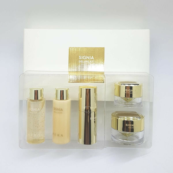 Hera Signia Deluxe travel Kit Limited Water Emulsion Serum Eye Cream 5pcs