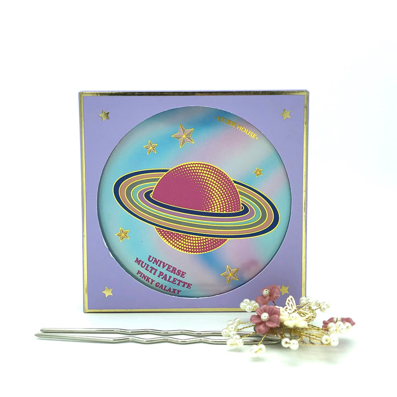 Etude House Universe Multi Palette #01 Pink Galaxy
