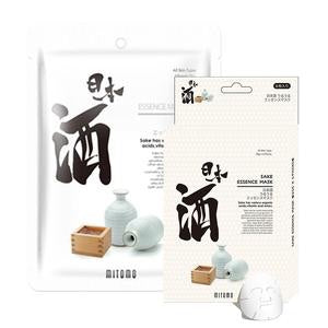 MITOMO Japanese Sake Facial Essence Mask 1 unit