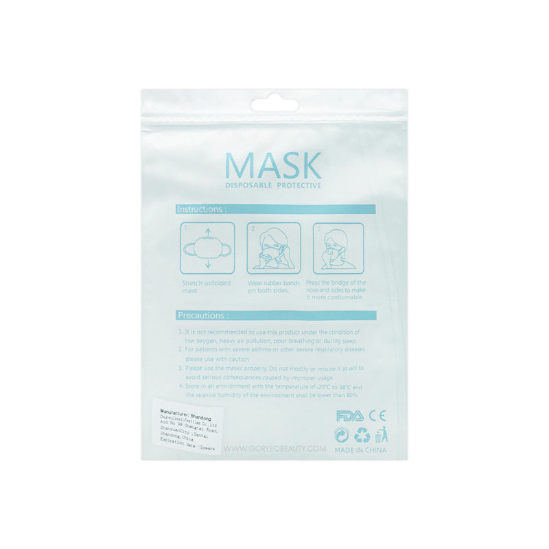 Disposable Protective All purpose Face mask KN95