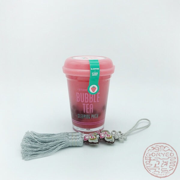 Etude House Bubble Tea Sleeping Pack, Strawberry 100gr