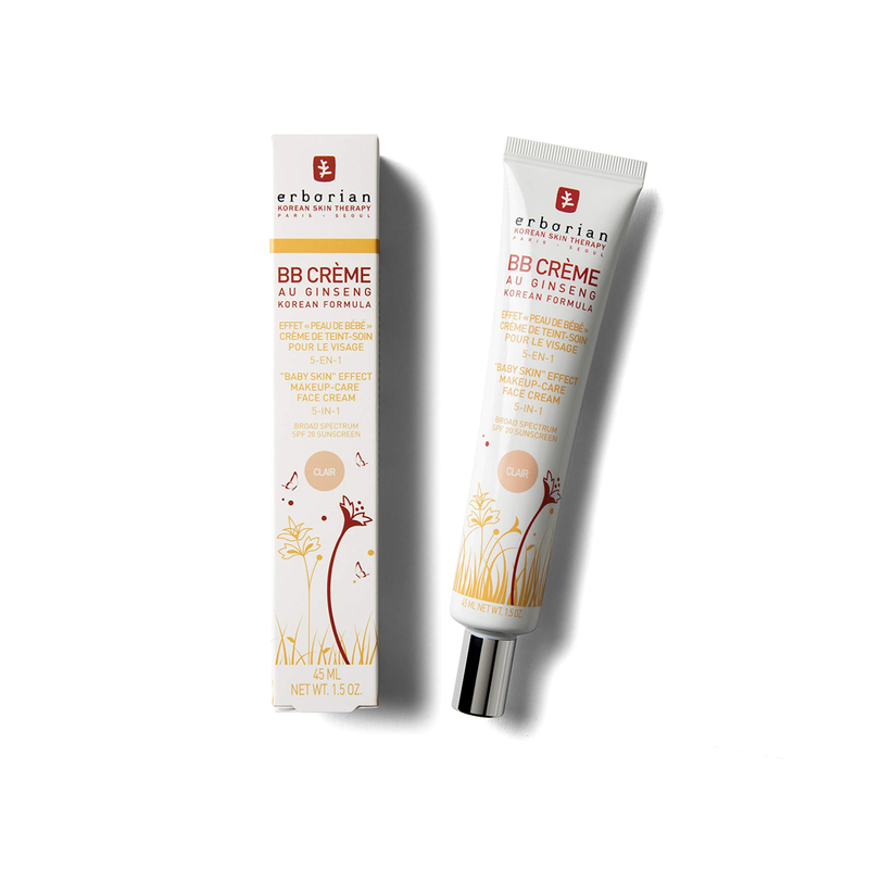 Erborian BB Creme Au Ginseng 5-In-1 Total Sheer Make-Up-Care Cream SPF20 / PA++ Clair