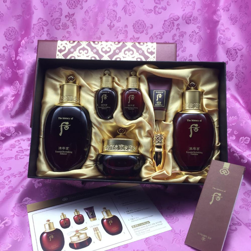 The History of Whoo Jinyulhyang Special Set