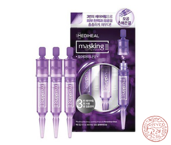 Mediheal Masking Layering Ampoule Poreminor Shot 1 Pack Ampoule