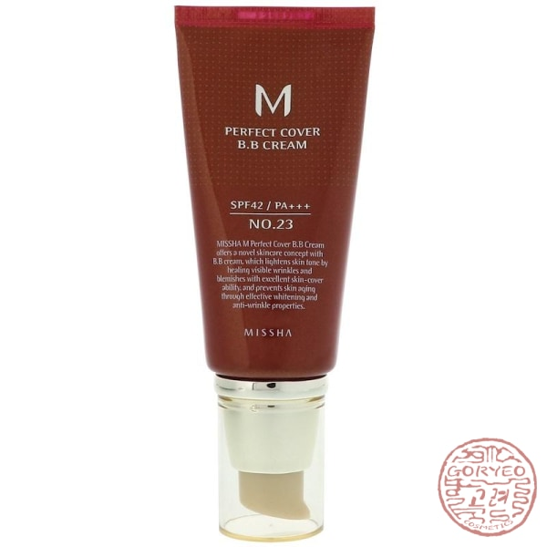 Missha M Perfect Cover Bb Cream No. 23 Natural Beige 50 Ml Cream