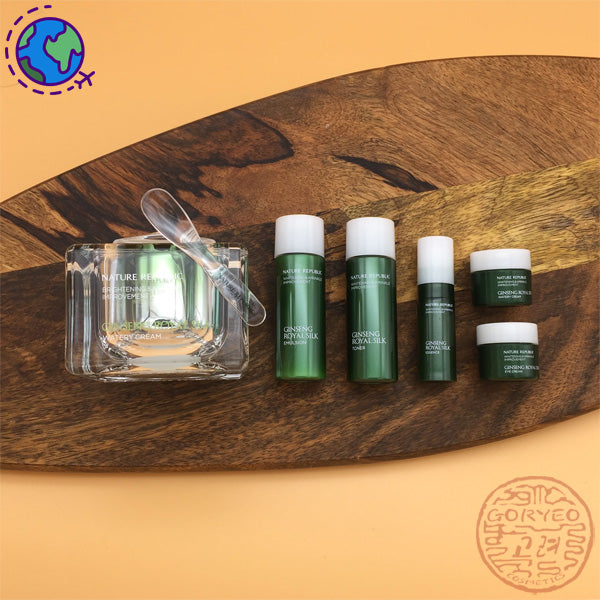 Nature Republic Ginseng Royal Silk Watery Cream Special Set