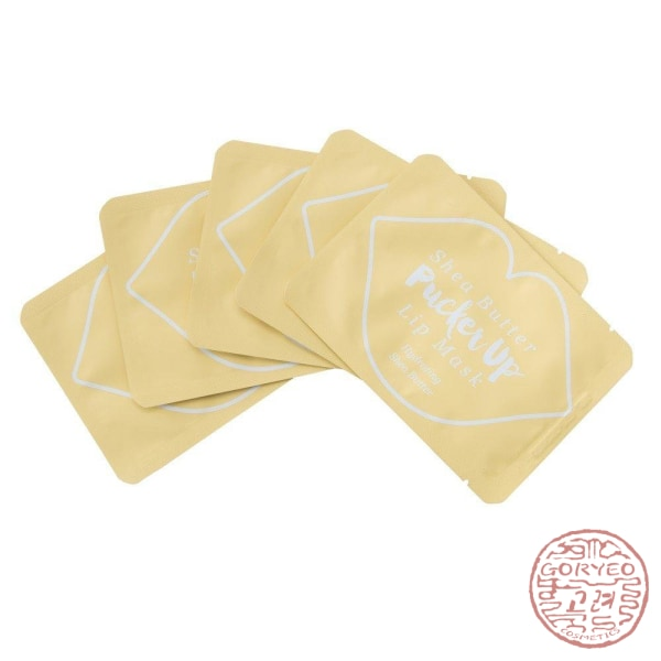 Pucker Up Lip Mask Shea Butter Mask Sheet
