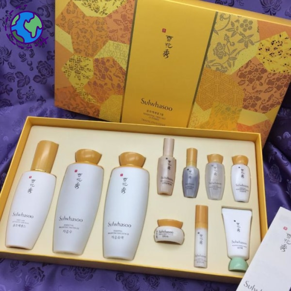 Sulwhasoo Essential Trio Set- 3 Items- Travel Exclusive Set