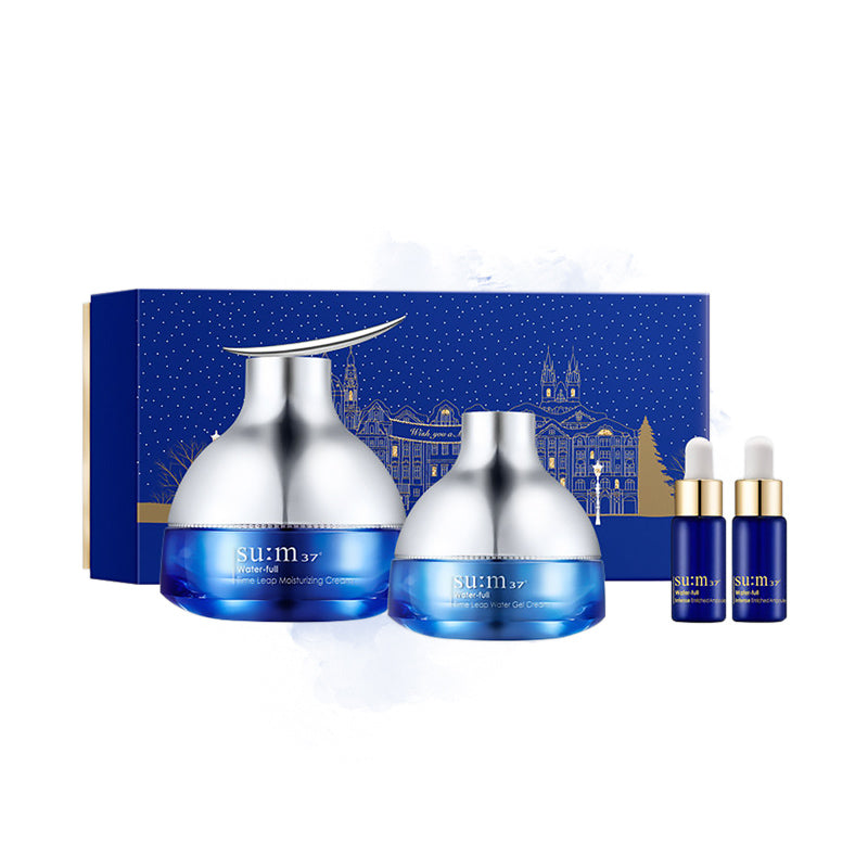 Su:m37 Water-full Best Cream Set Holiday Edition