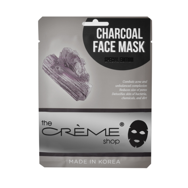 The Creme Shop Charcoal Face Mask Mask Sheet
